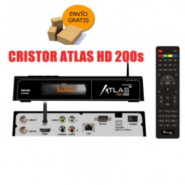 Receptor satelite  Atlas HD200-SE